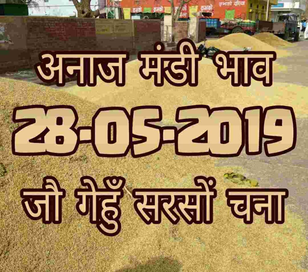mandi bhav 28-05-2019 , mandi rates today
