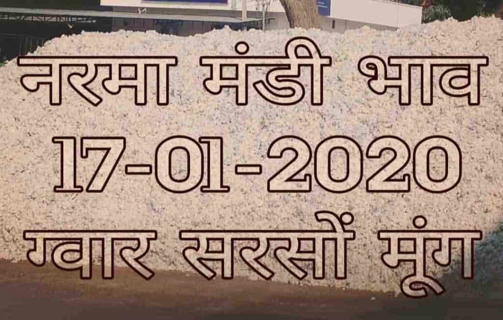 Mandi Bhav 17-01-2020 Anaj Rates